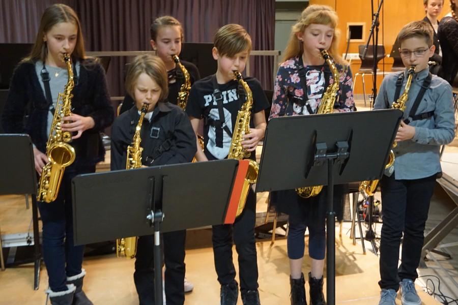 Saxophon-Nachwuchs